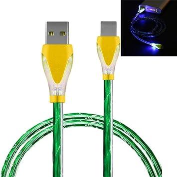 fua Luz LED Cable Cargador USB a Micro USB Cable de carga ...
