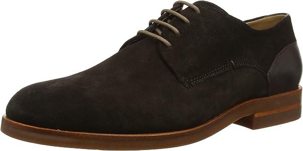 TALLA 43.5 EU. H by Hudson Antrim, Zapatos de Cordones Derby Hombre