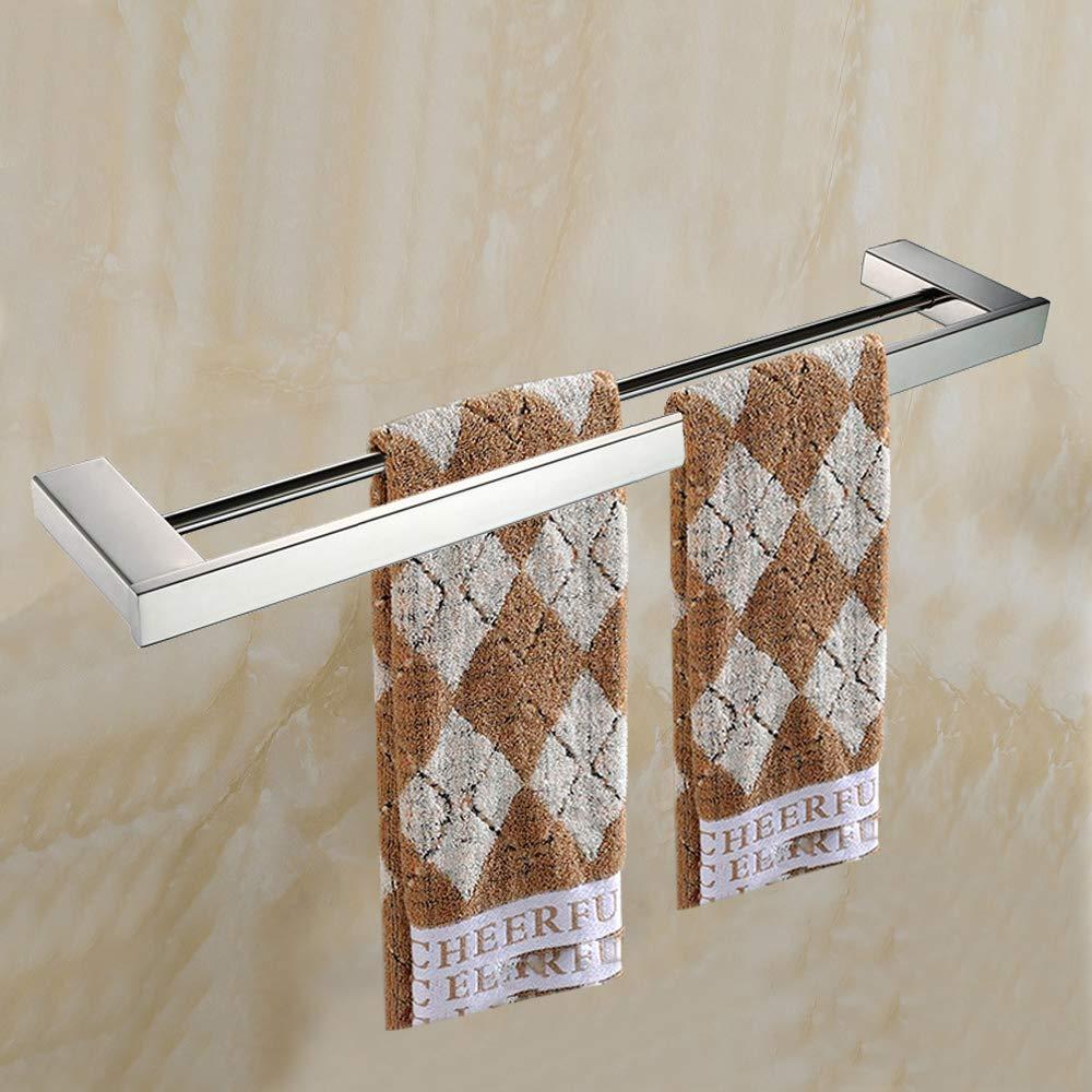 Lucido Turs 4-piece set di accessori da bagno SUS 304 inossidabile carta igienica portasciugamani asciugamano bar accappatoio asciugamano anello porta cremagliera supporto a parete N1009P
