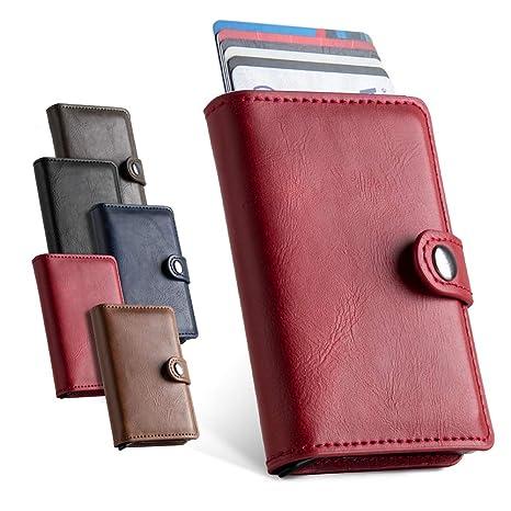 LUNGEAR Fundas para tarjetas de crédito Porta tarjetas de ...