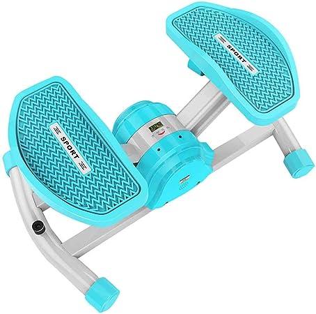 Escalera Stepper Ejercicio Máquina Deportes Stepper Mini Step Rotary Elliptical Trainer Stepper Fitness Puede Jugar Equipo de música Azul, Rosa Roscloud @: Amazon.es: Hogar