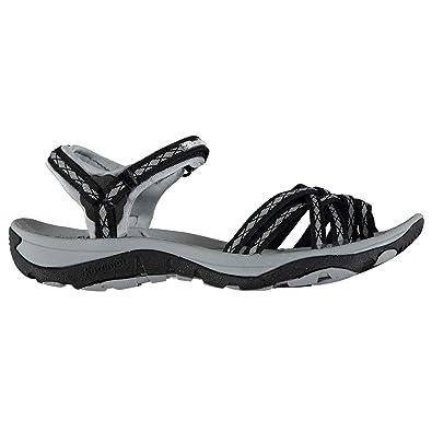 692490368477 Karrimor Womens Salina Walking Sandals Shoes Outdoor Trekking Hiking Black  UK 4 (37)