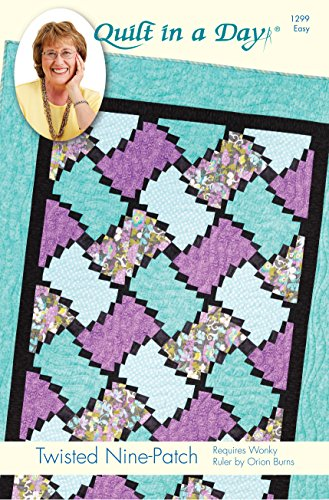 Quilt in a Day Eleanor Burns Signature Pattern- Twisted Nine-Patch Quilt Pattern