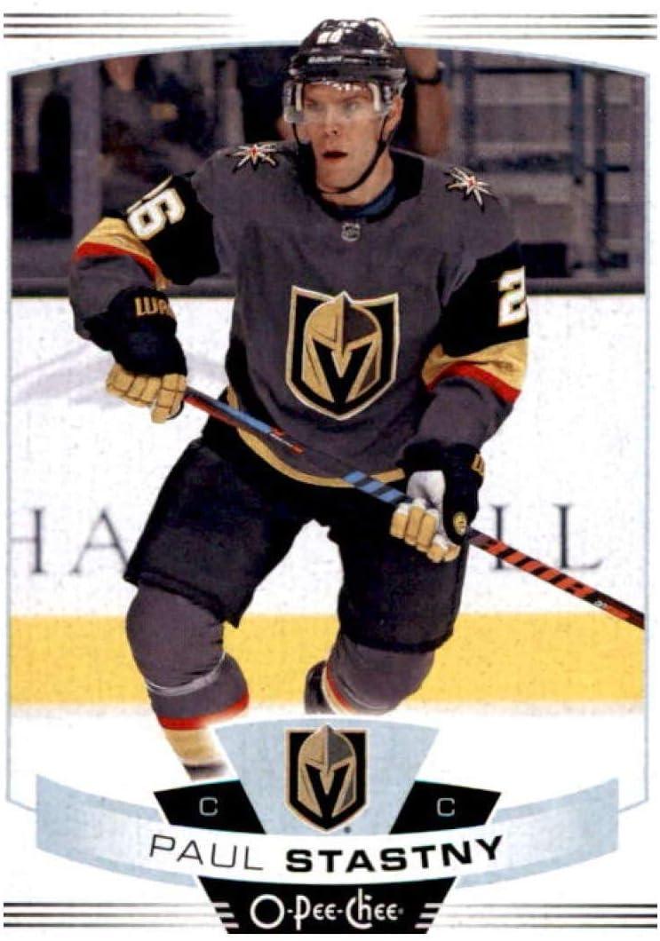 Amazon Com 2019 20 O Pee Chee 177 Paul Stastny Vegas Golden Knights Nhl Hockey Trading Card Collectibles Fine Art