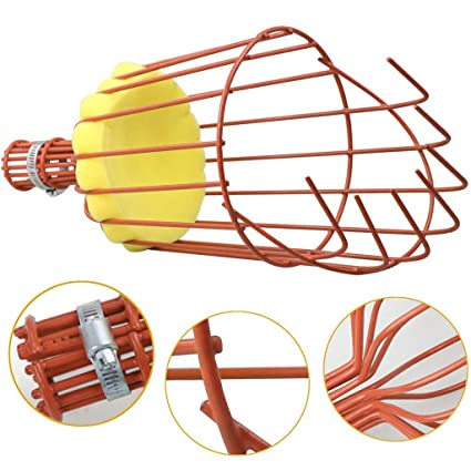 Gardening,Red Yugust Fruit Picker Harvester Basket Labor Saving Tool Fruits Catcher with Cushion to Prevent Bruising Pole Not Included