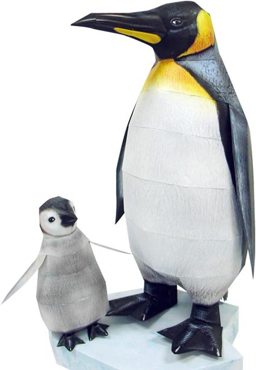 Happy Paper 12767 - Maqueta 3D en papel con diseño pingüino ...