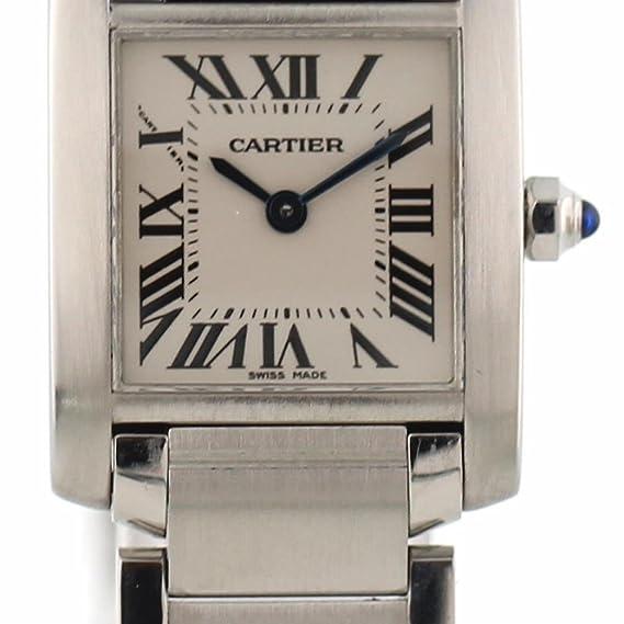Cartier Tanque De Reloj De Cuarzo Francaise 2384 para Mujeres: Cartier: Amazon.es: Relojes