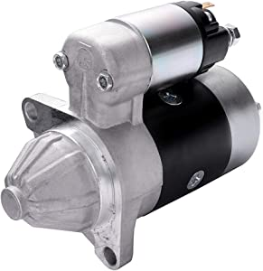 LUJUNTEC 18203 Starter Fit for Dynapac Compactor LH300 Various for Yanmar 2000-2009 Etnyre Misc. Equipment XL20 L100AE-DE for Yanmar Eng 1996-2005
