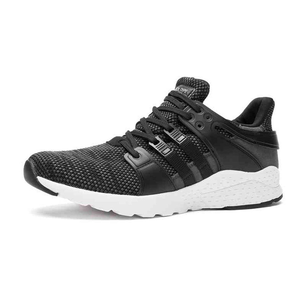YIXINY Deporte Zapato H30M7303 Zapatos Casuales De Malla Calzado Deportivo Al Aire Libre Zapatillas De Baloncesto Zapatos De Senderismo Ligero Y Cómodo Negro 5 Tamaño Opcional ( Tamaño : EU40/UK7/CN41 ) EU40/UK7/CN41