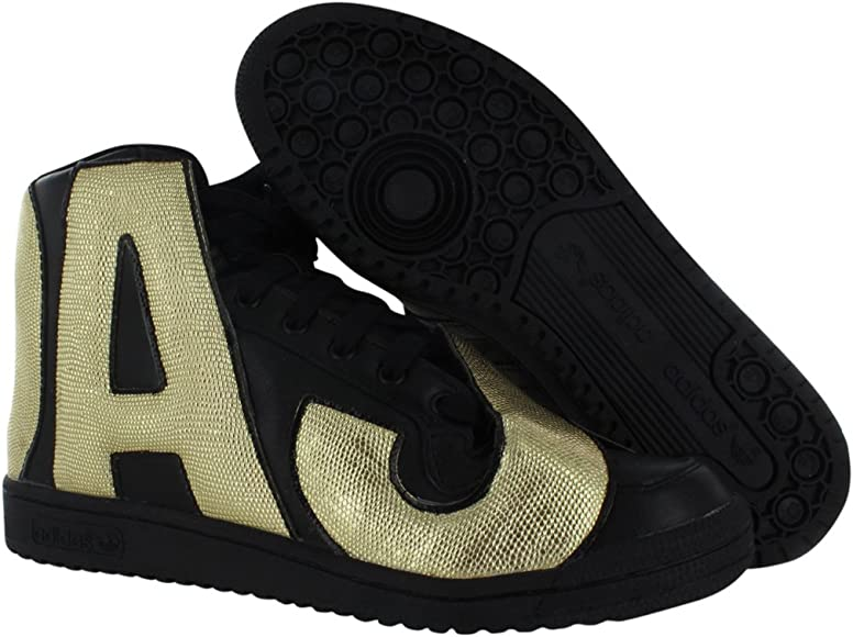 Adidas Jeremy Scott Letters Gold