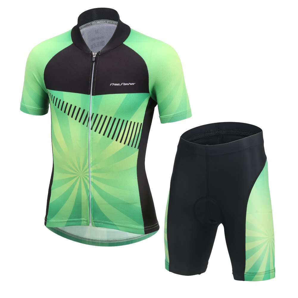 Black//Hi Vis Yellow by Santini Men/'s BCOOL Aero Cycling Bib Shorts