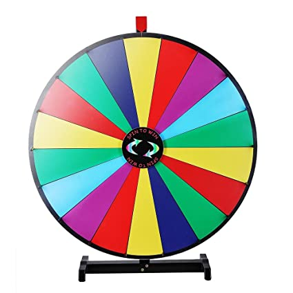 Amazon Com Winspin 18 Segment 30 Inches Tabletop Colorful Spin