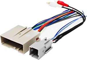 Replacement Radio Wiring Harness for 2008 Ford F-250 Super Duty Lariat Crew Cab Pickup 4-Door 6.4L - Car Stereo Connector