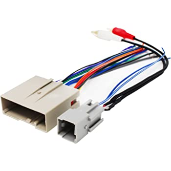 replacement radio wiring harness for 2005 ford. Black Bedroom Furniture Sets. Home Design Ideas