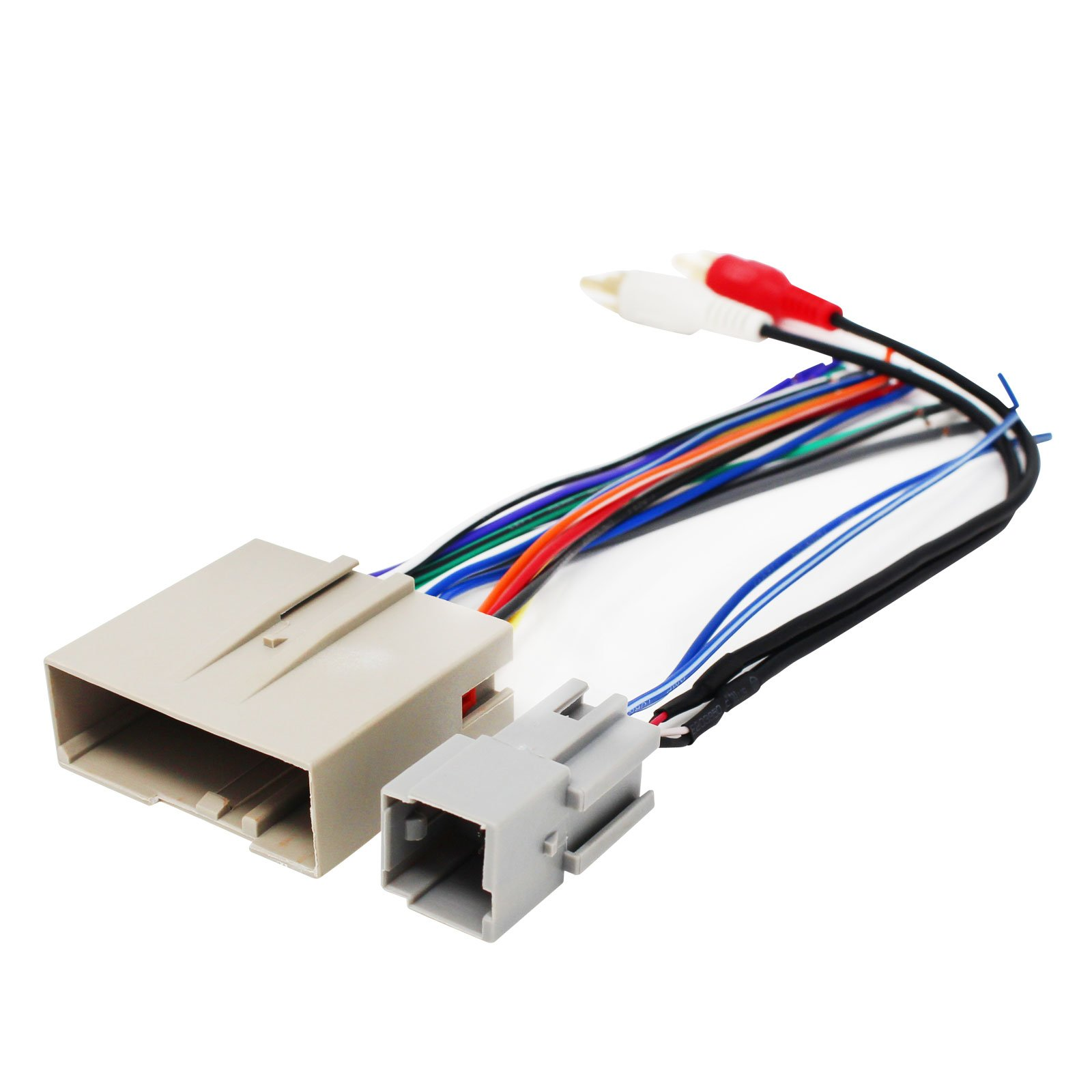 Replacement Radio Wiring Harness for 2004 Ford F-150 Lariat Extended Cab Pickup 4-Door 5.4L - Car Stereo Connector