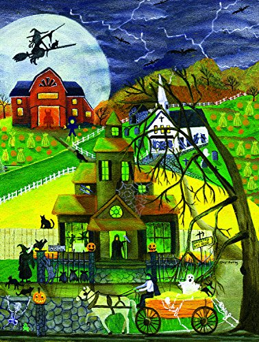 Haunted Hayride 500 Piece Jigsaw Puzzle by SunsOut