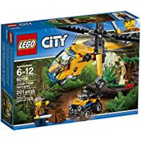 LEGO City Jungle Explorers Jungle Cargo Helicopter 60158...