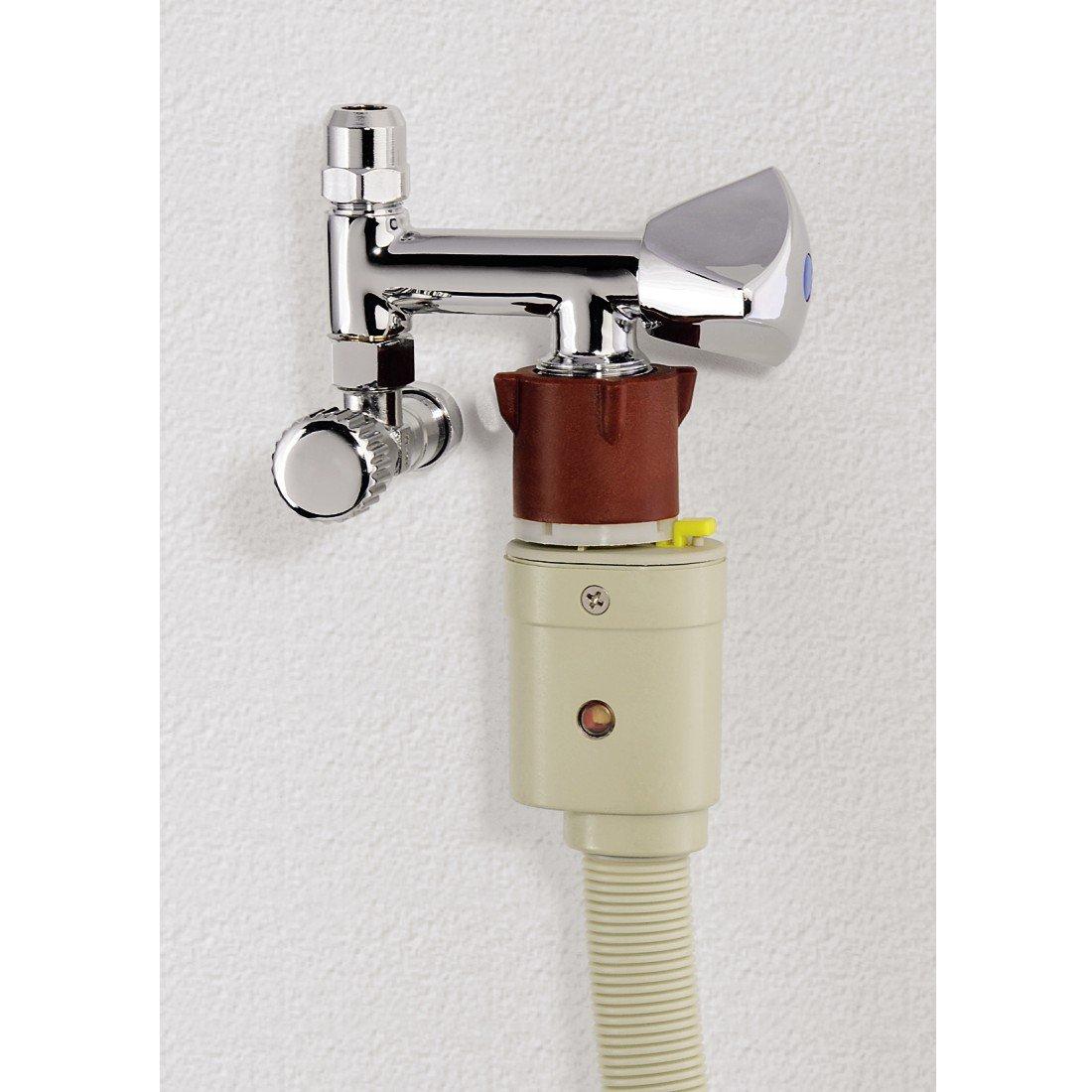 Chrom oder Sp/ülmaschine Messing Xavax Maschinenanschluss f/ür Wasch