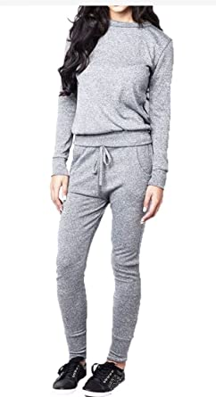 Silva & Sons - Chándal - para Mujer Gris Gris S/M: Amazon.es: Ropa ...