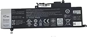 Binger New GK5KY Replacement Laptop Battery for for Dell Inspiron 13-7347 11-3147 13-7000 Type 6MT4T (11.1V 43Wh)