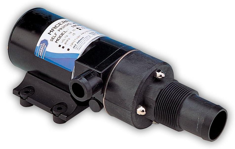 Jabsco 18590 Series Macerator Bomba, autocebado, protección en seco, evacuación de residuos