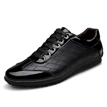 120e4d1112f1 Amazon.com: XUE Men's Leather Shoes,Spring Fall,Casual/Travel ...