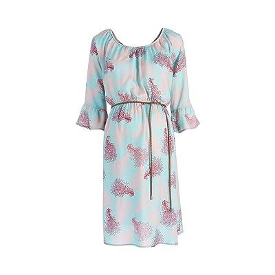 2HEARTS Robe de grossesse et d'allaitement corail robe de grossesse robe de grossesse