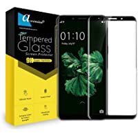 Ascension ® for Oppo F5 Border Tempered Gorilla Screen Protector High Premium Quality 9h Hard 2.5D Ultra Clear (Black, White & Transparent)