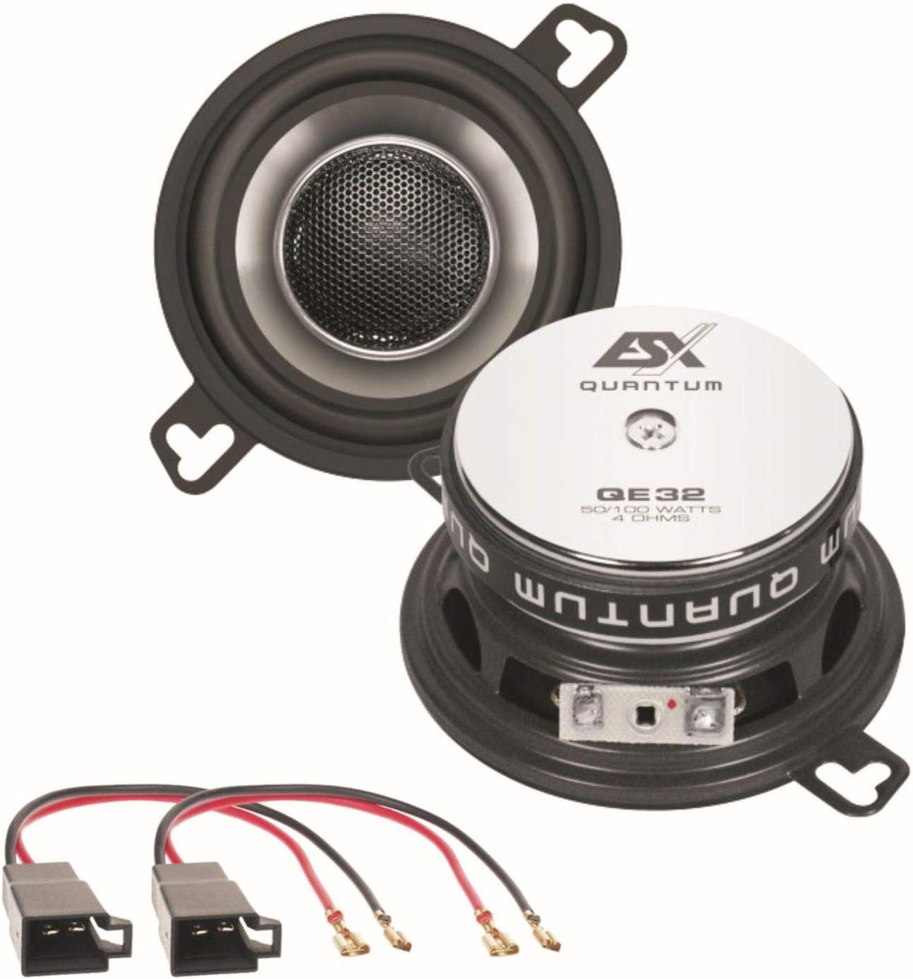 Esx Quantum Qe32 2 Wege Koaxial Lautsprechersystem Elektronik