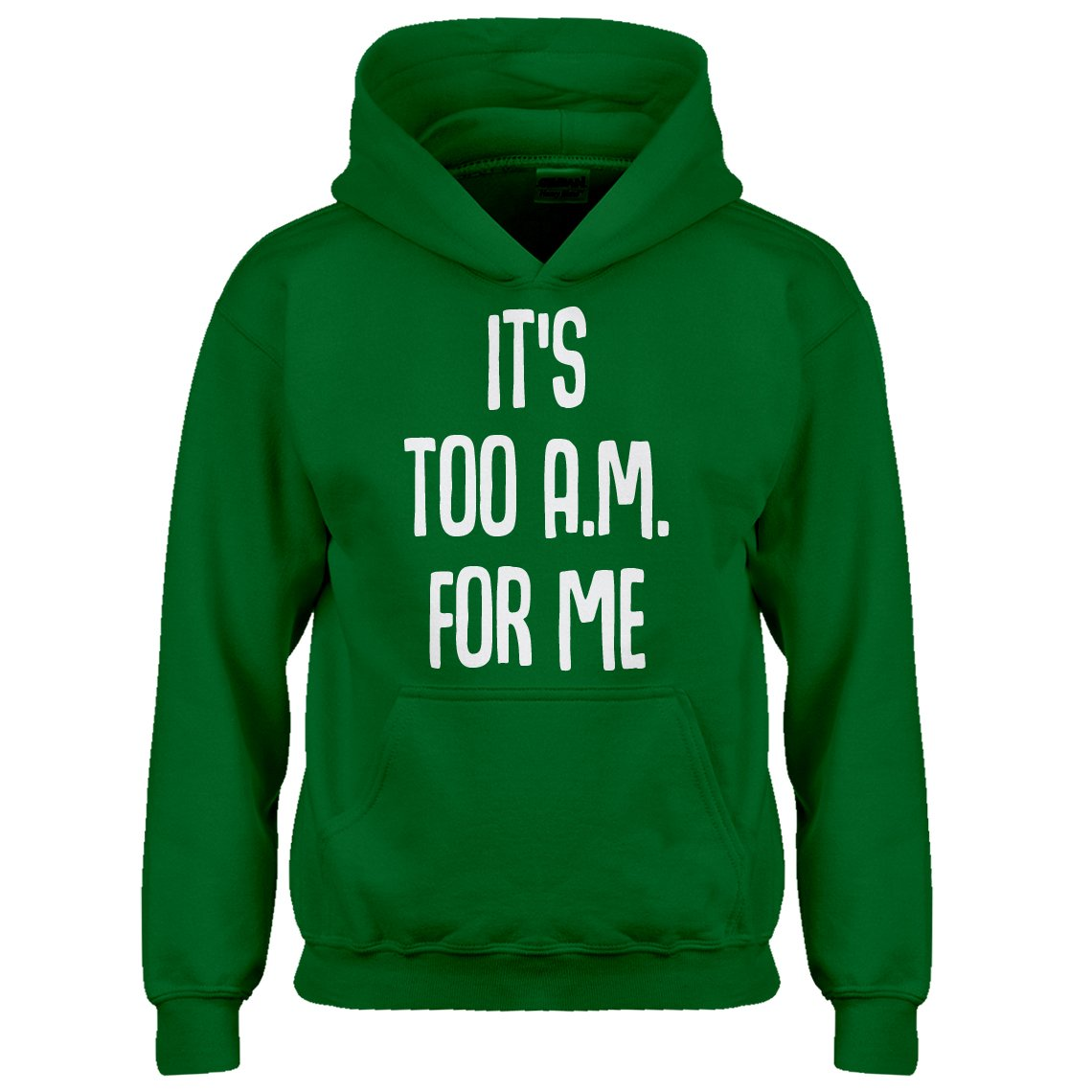 Indica Plateau Youth It's Too A.M. for me Kids Hoodie 3486-Z