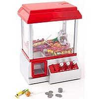 United Entertainment–Candy Grabber/süßigkeit automatique/bonbons automatique/Pince de préhension Jeu automatique–Rouge