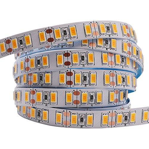 XUNATA 5M LED Strip SMD 5730 5630 120 LEDs/m Flexible LED Tape Light SMD Epistar, Non-waterproof DC12V, Warm White