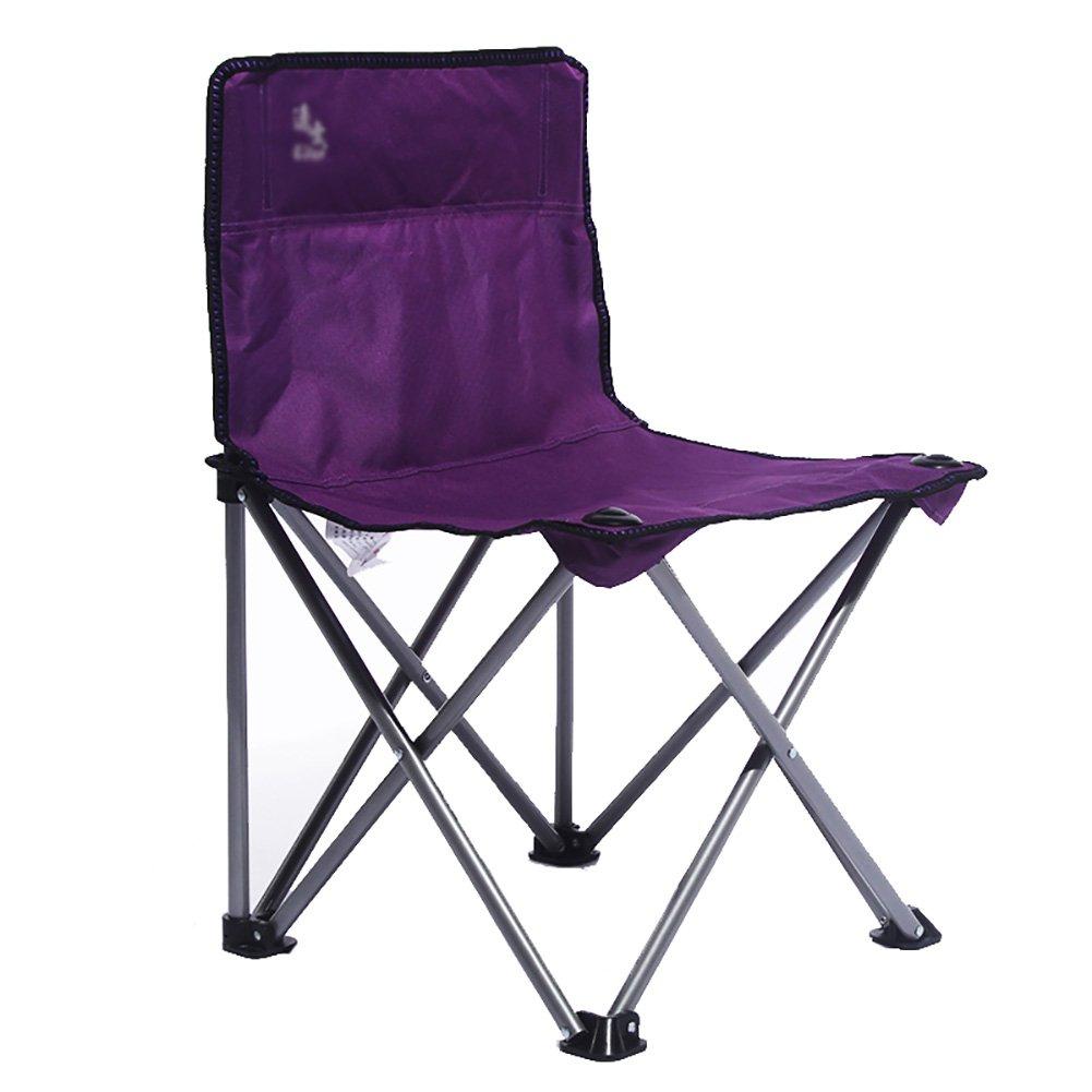 【本物新品保証】 ZGL Outdoors Foldポータブルスケッチ椅子カジュアルArmchairアウトドア折りたたみ椅子アート学生図面椅子旅行椅子軸受100 kg Outdoors ZGL パープル kg B07DH3RGLC, CASACASA カーサカーサ:d9a13f32 --- cliente.opweb0005.servidorwebfacil.com