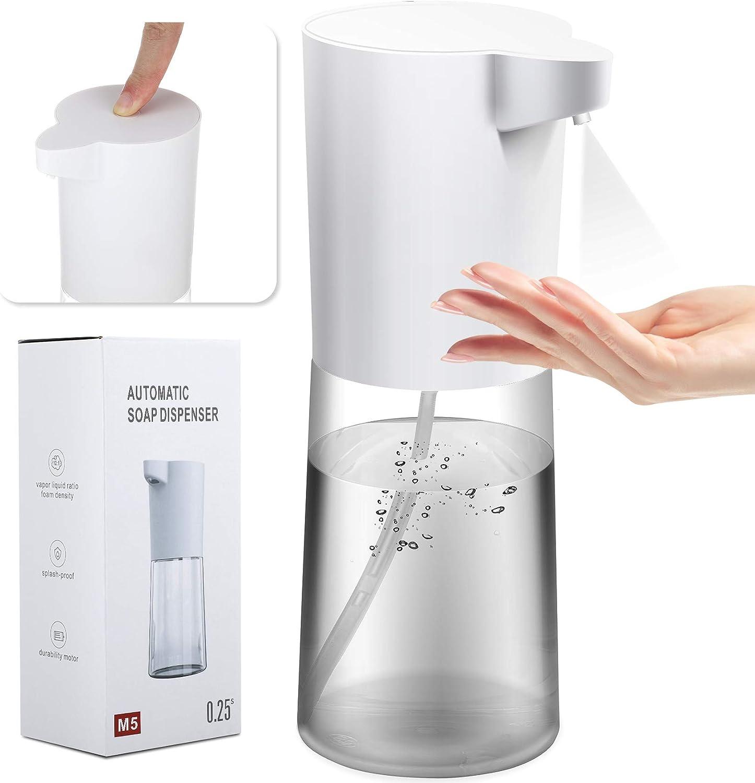 Automatic Disinfectant Dispenser Alcohol Sprayer 500 ml Automatic Disinfectant Dispenser with Automatic Infrared Sensor Soap Dispenser Automatic for Bathroom