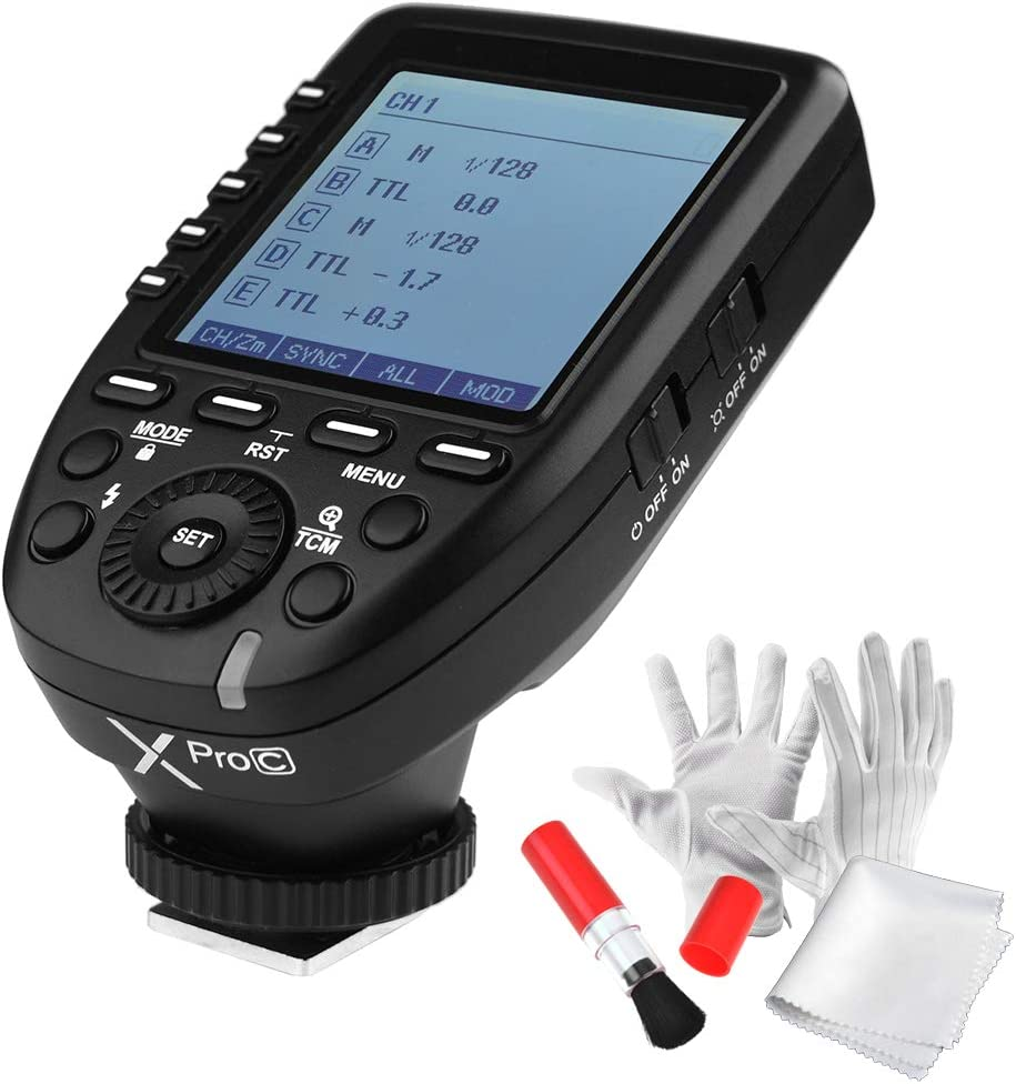 Godox Xpro-C TTL Wireless Flash Trigger for Canon