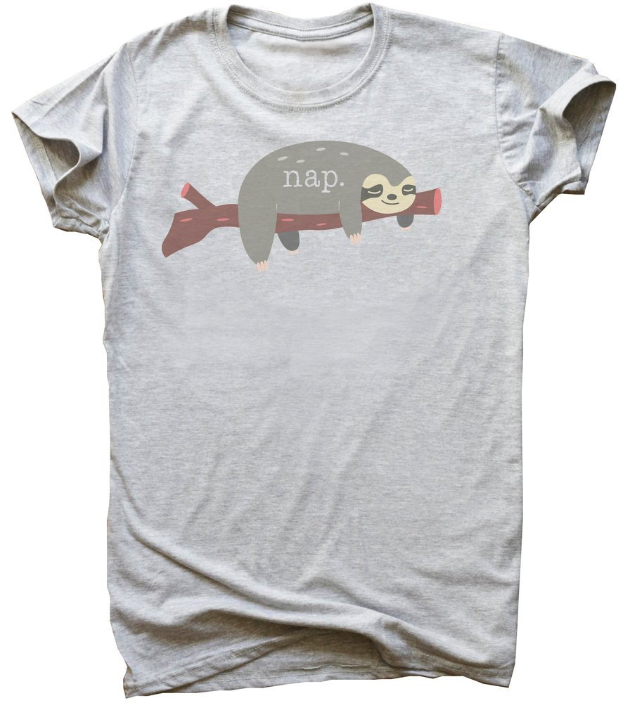 Nap Cute Sloth Sleeping On A Branch Men'S T-Shirt -