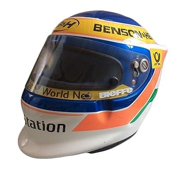 Casco Jarno Trulli Formula 1 F1 Original de Colección BIEFFE Talla L homologado Dot introvabile