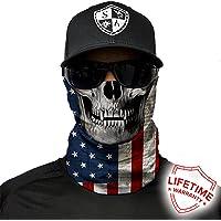 Sal Armour Face Mask Shield-Pasamontañas Alpha Defense perfecto para pesca, caza, senderismo, Moto, Equitación, Airsoft, Paintball, Camping, canoa, kayak y otras actividades al aire última intervensión