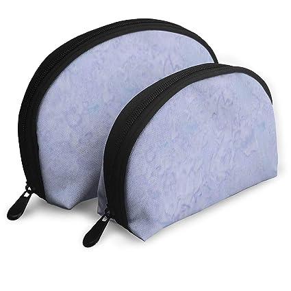 b55992b7d1fa Amazon.com: XINLLPO Light Periwinkle Portable Cosmetic Bag,Toiletry ...