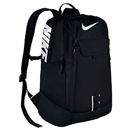 378a6ee992a3 Amazon.com  Men s Nike Alpha Adapt Reign Backpack Black White Size One  Size  NIKE  Sports   Outdoors