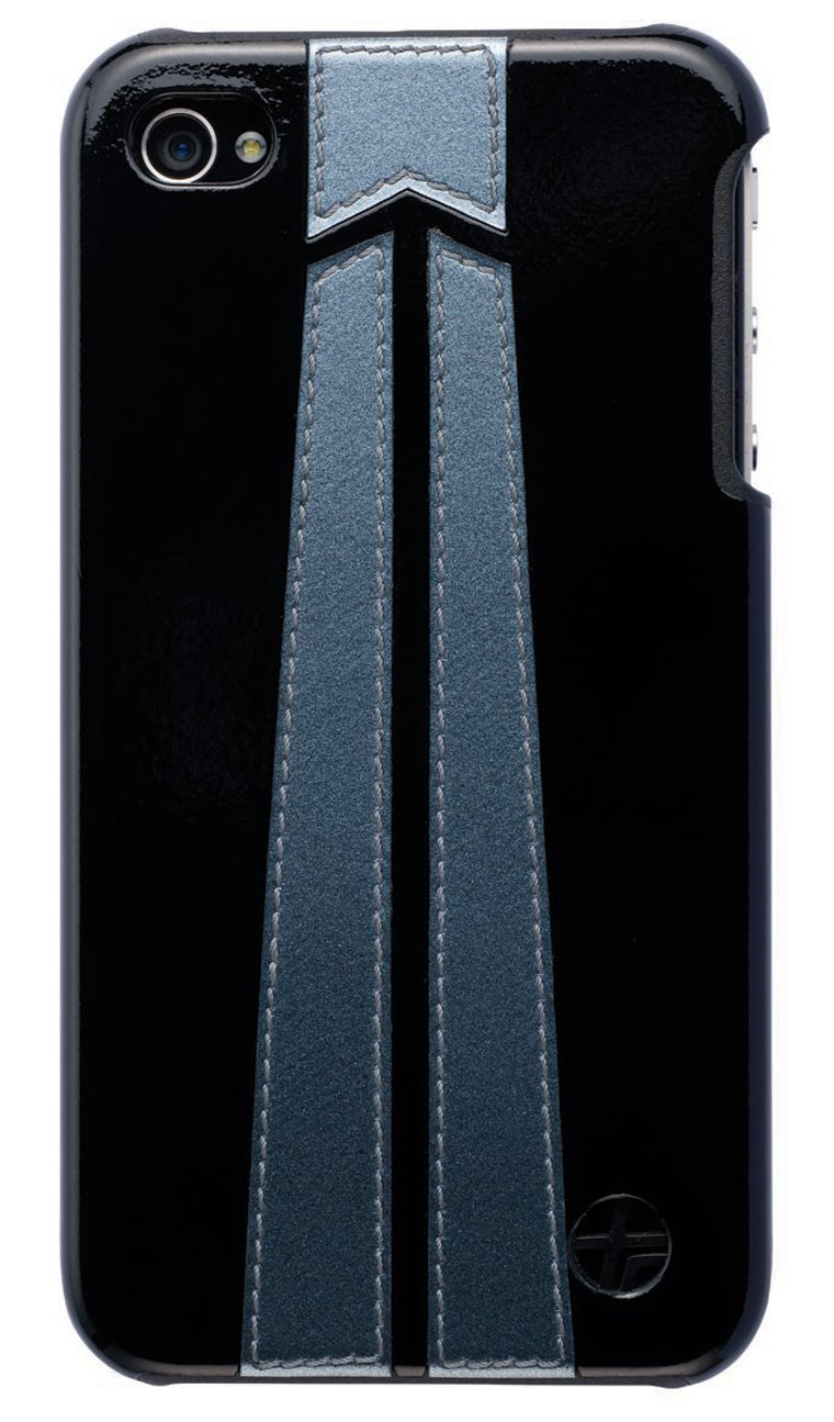 Trexta TRF3080 - Carcasa trasera para iPhone 4, color negro ...