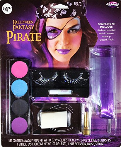 Kids Pirate Makeup (Halloween Fantasy Pirate Kit)