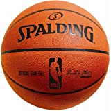 Creative Sports Enterprises SPALDING-NBA-Game-Ball Spalding Official NBA Leather Game Basketball