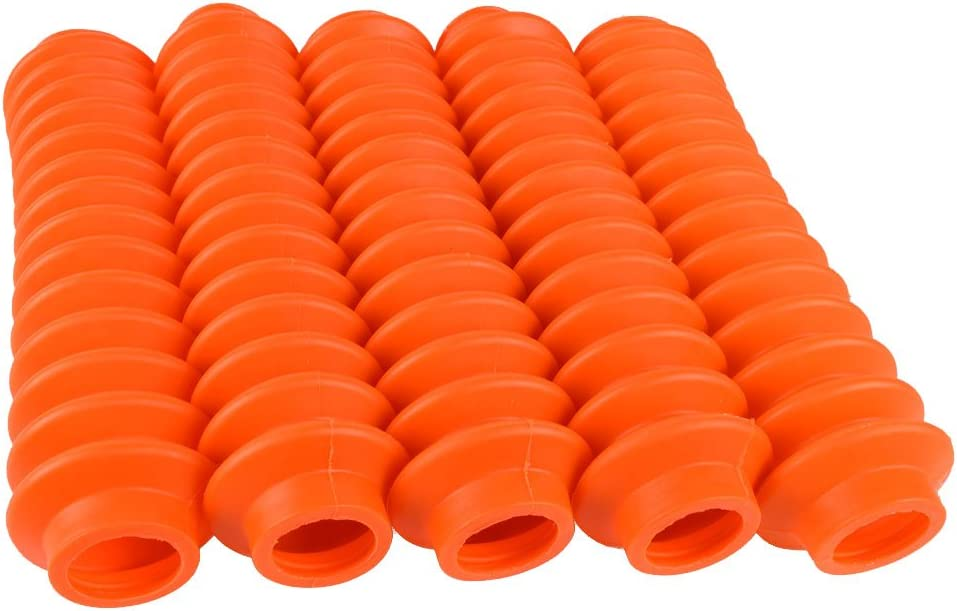 4 Shock Boots Fits Most Shocks for Jeep Universal Off Road Vehicles Fluorescent Orange