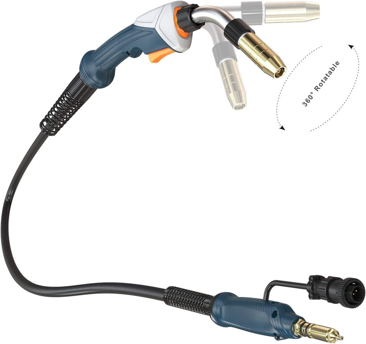 Flexible MIG Torch professional Replacement Tweco MIG Torch Miller Fitting connection