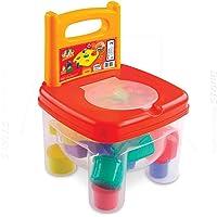 Brinquedo Educativo Brinkadeira Tic Tac com 12 Peças Dismat