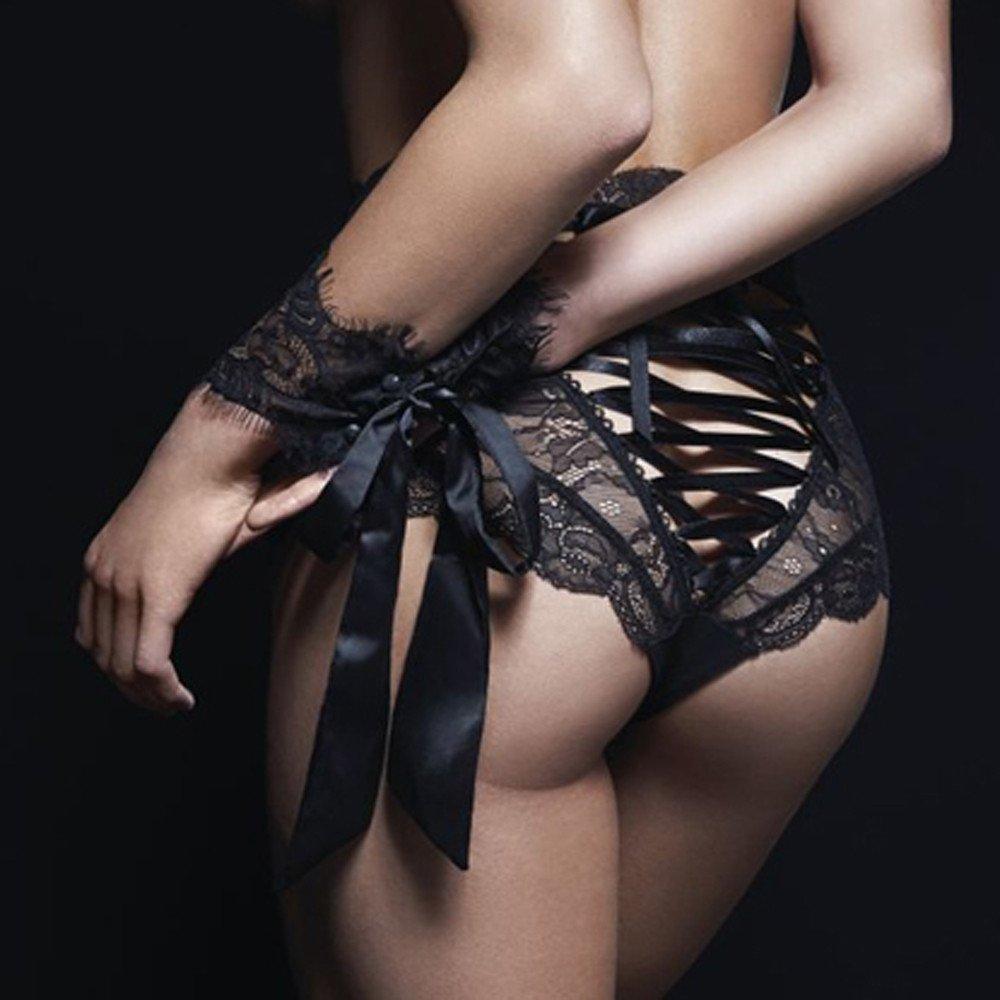 Lencería Mujer Erotica LANSKIRT Sexy para Mujeres Encaje Transparent Bragas Ropa Interior Ropa de Dormir Negro: Amazon.es: Ropa y accesorios