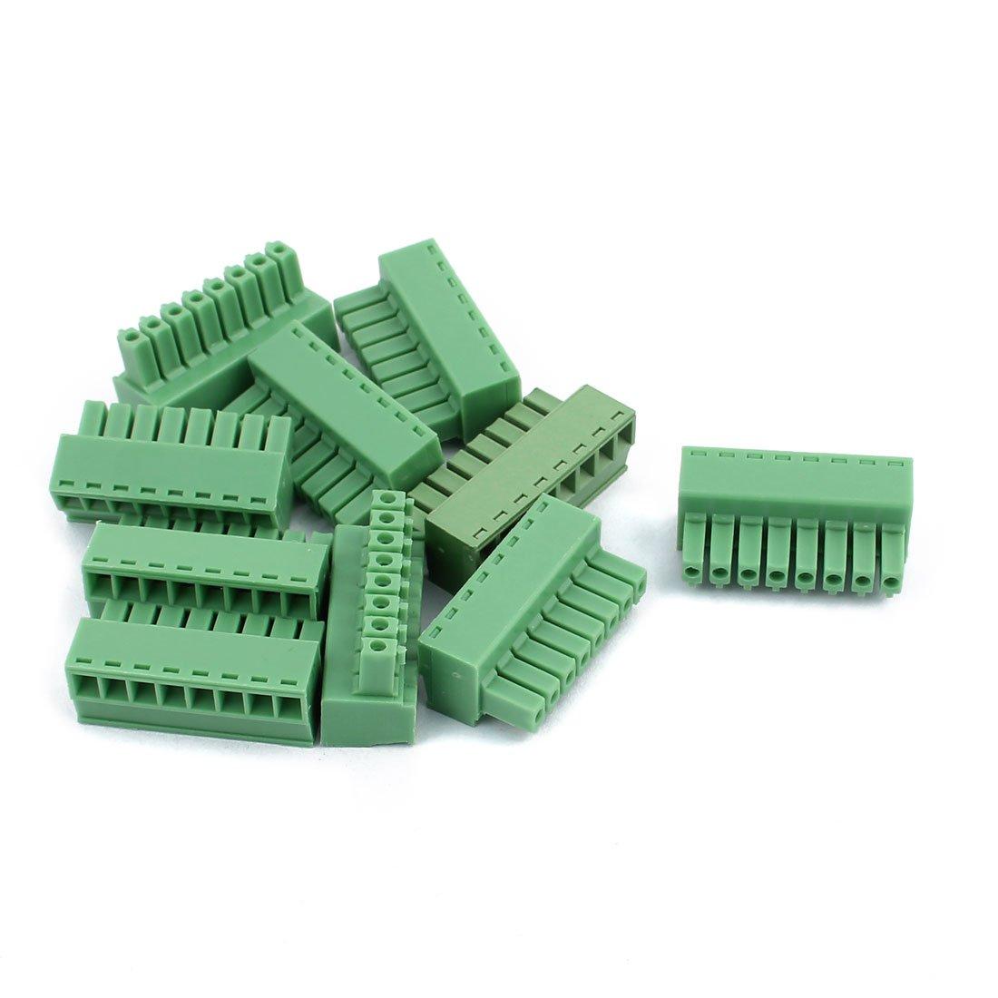 5pcs 2-Pin Pitch Screws Terminal Block Connectors 3.5mm
