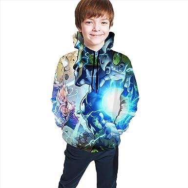 Fleece Pull Over Sweatshirt for Boys Girls Kids Youth Dragon Unisex Toddler Hoodies 23