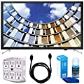 """Samsung UN32M5300AFXZA 32"""" LED 1080p Smart HD TV (2017 Model) Bundle with TV, 6ft High Speed HDMI Cable, Universal Screen Cleaner, and SurgePro 6 NT 750 Joule 6-Outlet Surge Adapter with Night Light"""